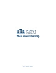 American Campus Communities Inc.