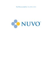 Nuvo Pharmaceuticals, Inc.