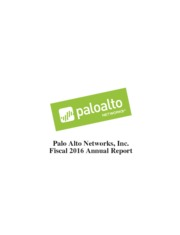 Palo Alto Networks Inc