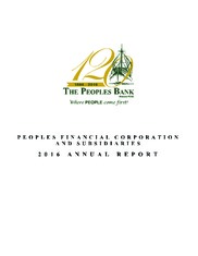 Peoples Financial Corp.