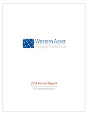 Western Asset Mortgage Capital Corporation