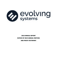 Evolving Systems Inc.