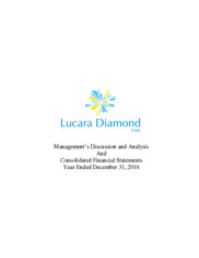 Lucara Diamond Corp.