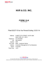 KKR & Co. Inc.
