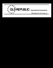 Old Republic International Corp.